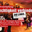 Die Fraktion der Linken im Landtag von Sachsen-Anhalt hatten zu ihrem traditionellen Neujahrsempfang in das Restaurant vom Landtag eingeladen.