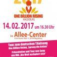 """Ein Aktionsbündnis aus Frauenprojekten und Sozialverbänden in Sachsen-Anhalt ruft zum """"One Billion Rising Days 2017"""" am 14. Februarin Magdeburg zu einem Tanz-Flashmob gegen Gewalt an Mädchen und Frauen auf. An […]"""