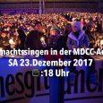 Auch in diesem Jahr findet das 2.Weihnachtssingen in der MDCC-Arena statt. Wo normalerweise die Fußballprofis des 1.FC Magdeburg spielen, stehen einen Tag vor Weihnachten, am 23. Dezember, wieder der Exaudi […]