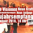 Am 16. Januar. 2018 lud die Landtagsfraktion der Linken in Sachsen-Anhalt zum Neujahrsempfang in das Restaurant des Landtags ein. Wir von CamsMD waren filmend vor Ort.