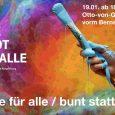 Mode für alle – Braun ist keine Farbe des Regenbogens Wir möchten am 19. Januar zwischen 18:00 und 22:00 Uhr direkt auf der Otto-von-Guericke Straße gemeinsam mit Euch unsere Stadt […]