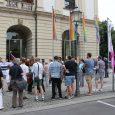 Am 9.8.2019 fand auf dem Alten Markt und im Rathaus die Eröffnungsfeier und das Flaggenhissen vom diesjährigen CSD 2019 statt.