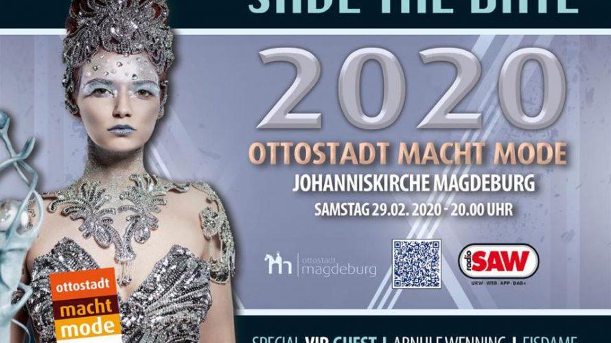 """""""Ottostadt macht Mode 2020"""" - Die Modenacht der Ottostadt präsentiert euch Kreative aus Sachsen-Anhalt in der einzigartigen Atmosphäre der Johanniskirche."""