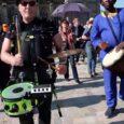 Kulturschaffende aus Magdeburg machten auf Ihre Lage seit der Coronasperre aufmerksam