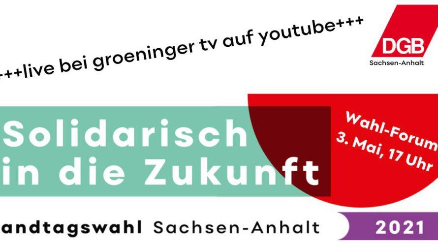 Am 6. Juni 2021 wählen die Menschen in Sachsen-Anhalt einen neuen Landtag. Die Wahl steht unter dem Eindruck der Corona-Pandemie und ihren gravierenden Folgen für das Miteinander, für Beschäftigung und […]